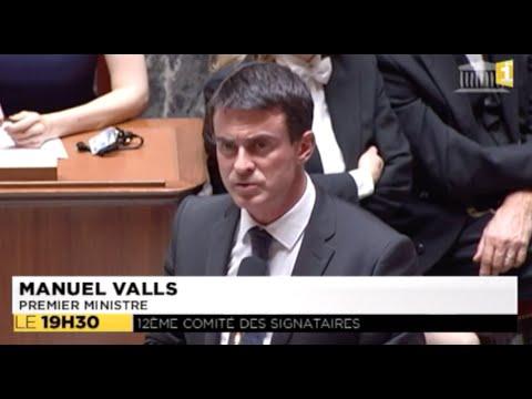 Assemblée nationale : La réponse de Valls à Philippe Gomès - 02-10-2014