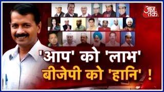 कोर्ट में AAP के 20 विधायक जीते, तो फिर हारा कौन? | हल्ला बोल Anjana Om Kashyap के साथ - AAJTAKTV