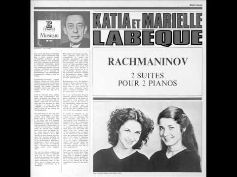 LABEQUE SISTERS play RACHMANINOV Suite No.1 Op.5 COMPLETE (1972)