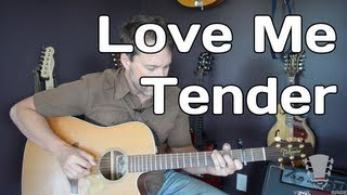 Love Me Tender Guitar Lesson