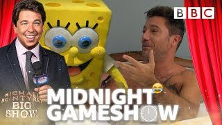 Gino D'Acampo HORRIFIED 😱 by Michael and Spongebob's RUDE awakening! - BBC - BBC
