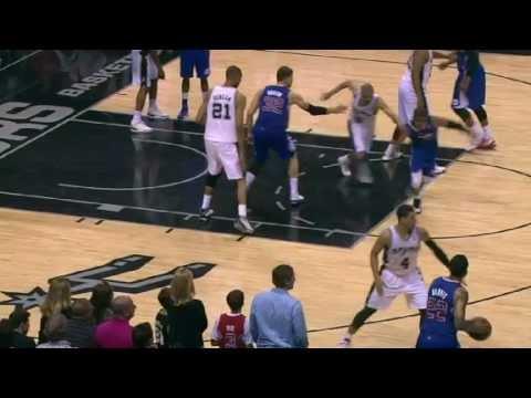 NBA CIRCLE - LA Clippers Vs San Antonio Spurs Highlights 29 March 2013