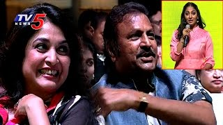 Mohan Babu Satire To Anchor Jhansi On Ramya Krishna