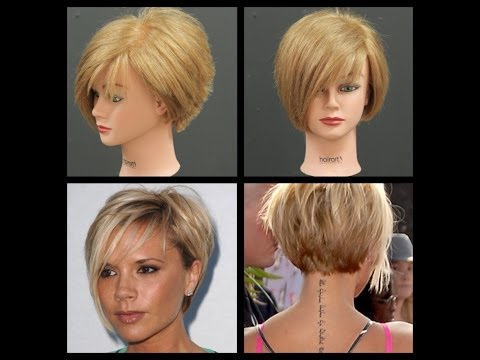Victoria Beckham Inspired Haircut Tutorial | TheSalonGuy