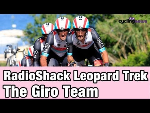 RadioShack Leopard Trek- The Giro Team 2013
