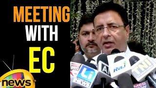 Kapil Sibal and Randeep Singh Surjewala Addresses Media After Meeting with EC | Mango News - MANGONEWS