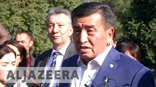 Kyrgyzstan leader's ally set to win presidential election - ALJAZEERAENGLISH