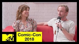 'Origin' Stars Tom Felton & Natalia Tena on the New Trailer & Filming Locations | Comic-Con 2018 - MTV