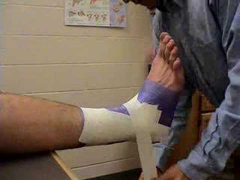 Ankle Taping Bellevue University Athletic Training