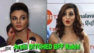 How Arshi Khan DITCHED her BFF Rakhi Sawant! - IANSLIVE