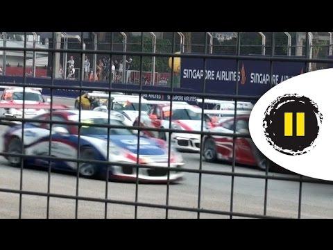 F1 2014 SingaporeGP - Porsche Carrera Cup Asia Race