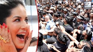 Sunny Leone Gets A Warm Welcome By Her Fans In Kochi | LehrenTV