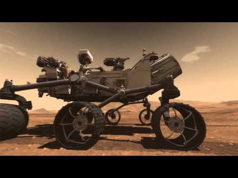 Mars Science Laboratory Curiosity Rover Animation -Tnmv7WfiWQk
