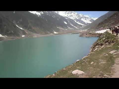 Paranormic view of lake saif ul muluk