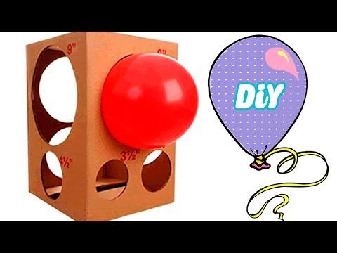 Como fazer medidor de Balão (bexigas) ! tutorial caixa de medir balloon