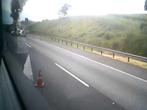 acidente na rodovia dos bandeirantes, de campinas para são paulo