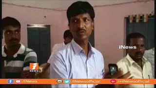 UP Man Thrashes By Bhavanipet Villagers Over Suspicious Of Bike Thief | Nizamabad | iNews - INEWS