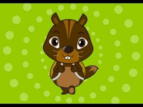 Muffin Songs – Chipmunk Family  İngilizce Tekerlemeler ve İngilizce Çocuk Şarkılar