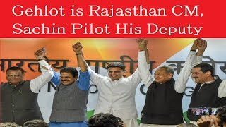 Gehlot is Rajasthan CM, Sachin His Deputy as Rahul Gandhi Opts For Old Fighter, Not New Pilot - NEWSXLIVE
