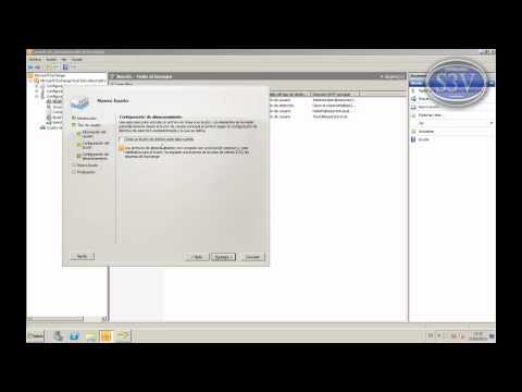 Exchange Server 2010 - Conectar y crear usuarios y buzones de correo