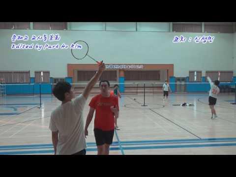 다시 시작하는 배드민턴 레슨 - 스윙 정확하게 연습하기.(badminton lesson - sin sungmin)