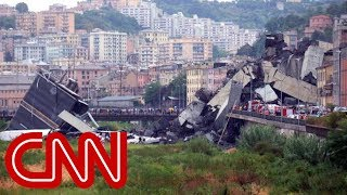 Bridge collapses in Italy after violent storm - CNN