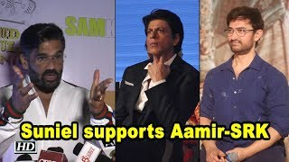 Suniel criticizes early reviews; supports Aamir's 'Thugs' & Shah Rukh's 'Zero' - IANSLIVE