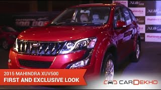 Exclusive First Look of the New Mahindra XUV 5oo | CarDekho.com