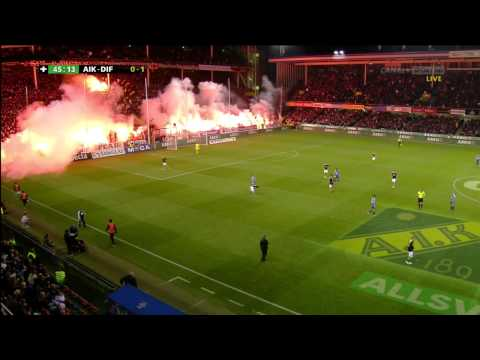 Swedish Football Match Silent Protest Goes Mental