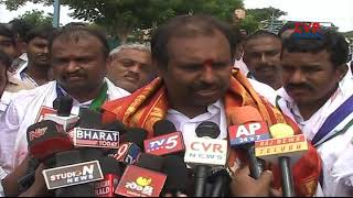 YCP MLA Srikanth Reddy begins padayatra for Krishna water | CVR News - CVRNEWSOFFICIAL