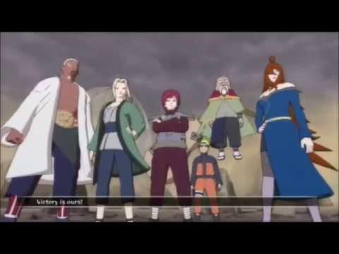 Naruto Shippuden: Madara vs The Five Kage Full Fight