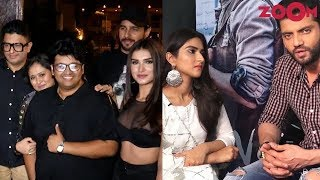 Marjaavaan team celebrates film's wrap-up | Zaheer & Pranutan promote their debut film Notebook - ZOOMDEKHO