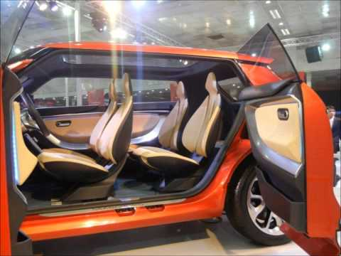 Mahindra-Ssangyong Car Launch at Auto Expo 2012 Delhi