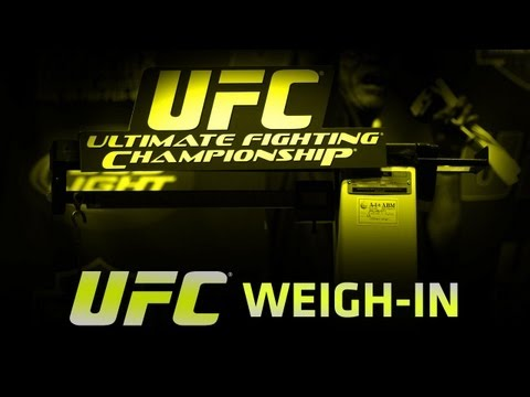 UFC 149: Faber vs Barao Weigh-In