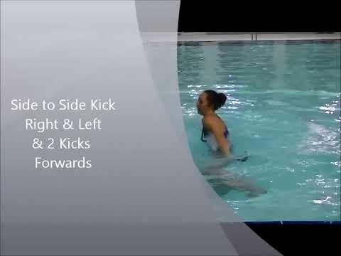 Aqua Aerobics. Tidal Wave Workout 1 (In the water)