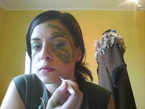 Tutorial Maquillaje: Driade, ninfa y seres del bosque