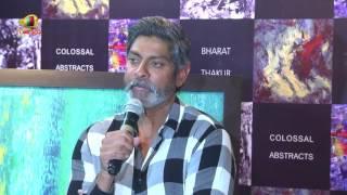 Jagapadhi Babu Speech in Bhoomika Husband Bharat Thakur Painting Gallery   Mango News - MANGONEWS