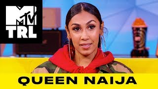 Queen Naija Reveals the Baby Names She is Considering | TRL - MTV