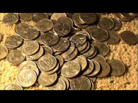 Coin Roll Hunting QUARTERS, looking for SILVER QUARTERS!