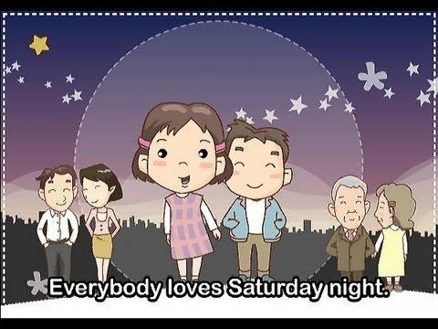 Muffin Songs – Everybody Loves Saturday Night  İngilizce Tekerlemeler ve İngilizce Çocuk Şarkılar
