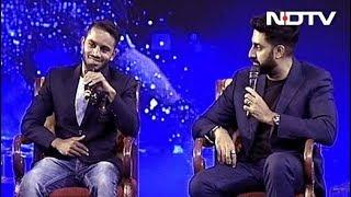 #NDTVYuva - कलाकारों के लिए भी खिलाड़ियों की तरह ही फिट रहना जरूरी है- अभिषेक बच्चन - NDTVINDIA