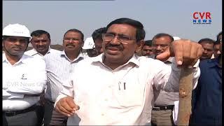 Minister Narayana inspects Amravati Roads Construction | CVR News - CVRNEWSOFFICIAL
