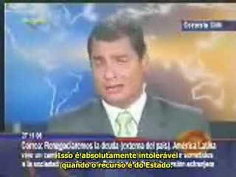 Entrevista Rafael Correa CNN (11/2006)