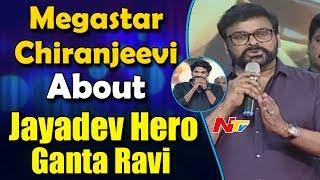 Megastar Chiranjeevi About Jayadev Hero Ganta Ravi @ Jayadev Pre-Release Event || Malavika - NTVTELUGUHD