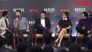 Alia Bhatt & others with cast of Narcos Season 4 Mexico Diego Luna, Michael Peña, Eric Newman - ZOOMDEKHO
