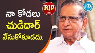 Gollapudi Maruti Rao Sets Rules For His Daughter-in-law || Remembering Gollapudi Maruti Rao || RIP - IDREAMMOVIES