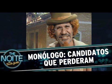 The Noite (28/10/14) - Monólogo: Danilo comenta as eleições