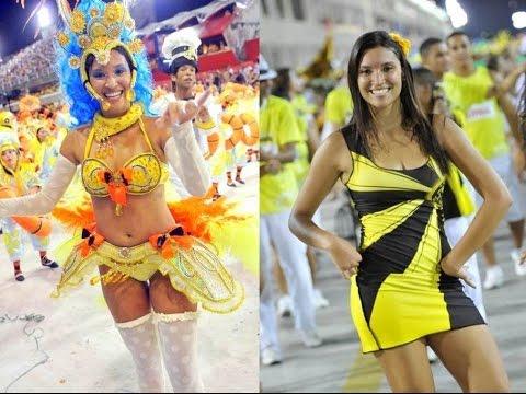 """Overwhelming samba"" Carnival Samba Dancing Sao Clemente Rio 2011"