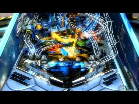 Marvel Pinball: Fantastic Four Trailer