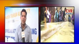 AP Tourism Set Guinness Record by preparing longest 'Pootharekulu' | CVR NEWS - CVRNEWSOFFICIAL